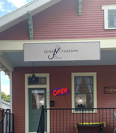 Visit Gold'N Creations Fine Jewelers at new location